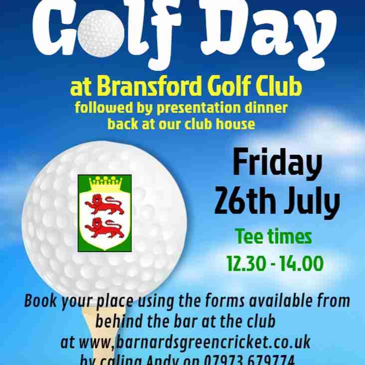 BGCC Golf Day
