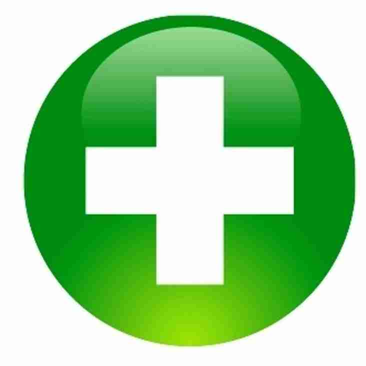 First Aid Course...
