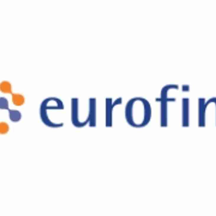 A new Shirt Sponsor for U15s: Eurofins UK