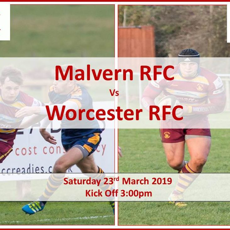 Malvern RFC v Worcester RFC<