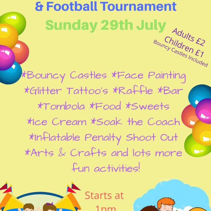Family Fun day and mini football tournament at Ruthin Memorial Playing Fields<