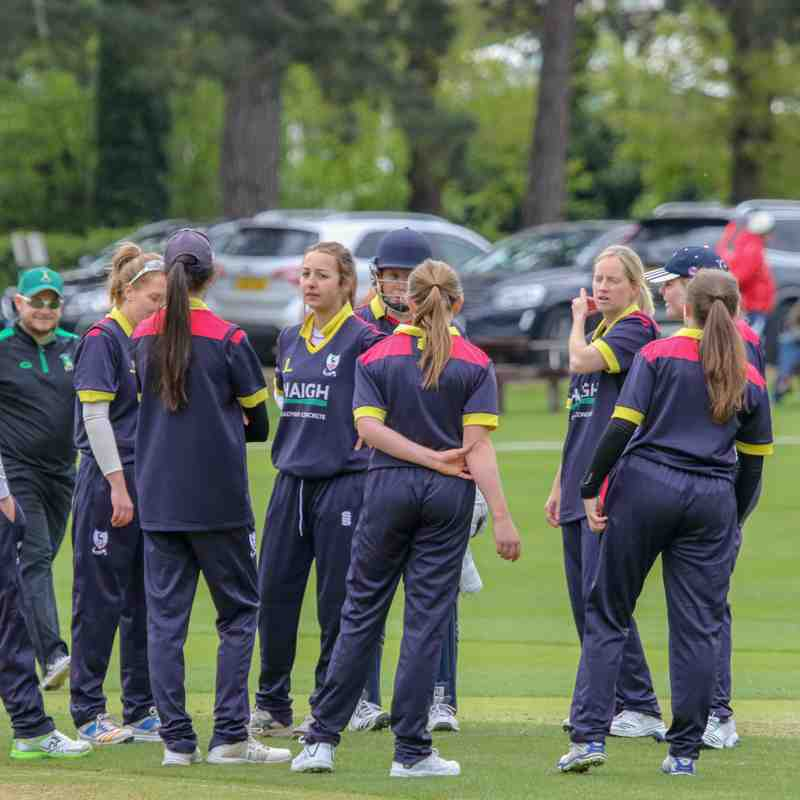 BSCC Ladies 1st XI v Kibworth CC  T20 National Cup