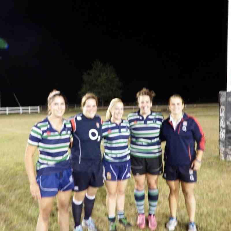 Abbey Ladies meet England captain