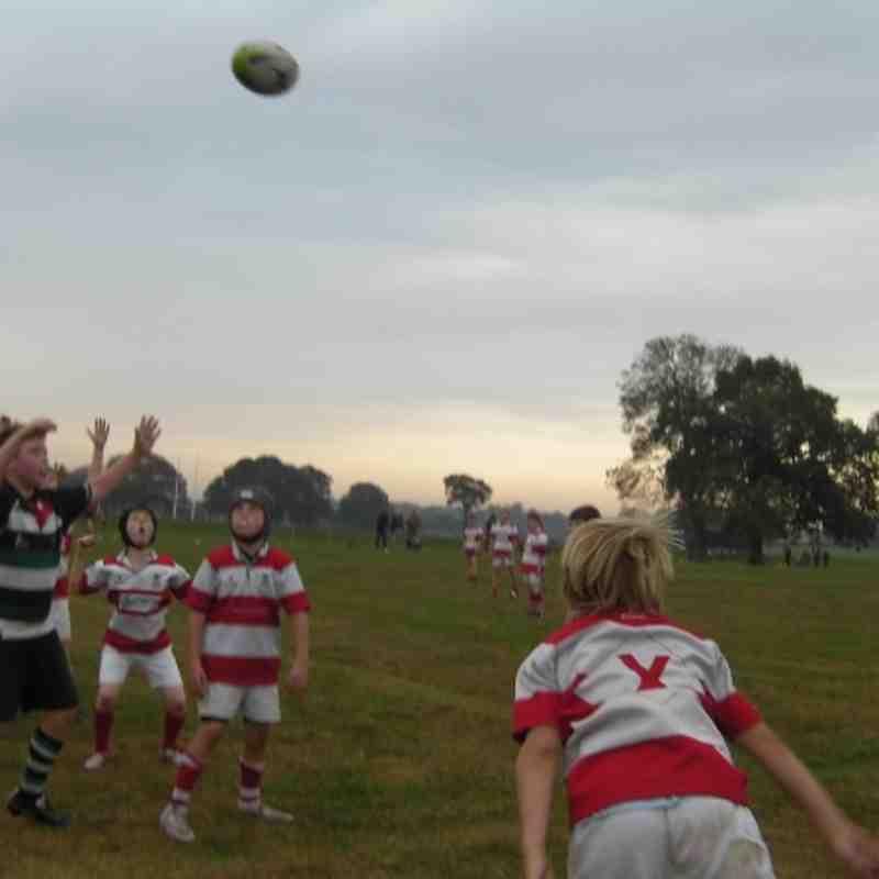 U11's vs Roundhegians (2nd October 2011)
