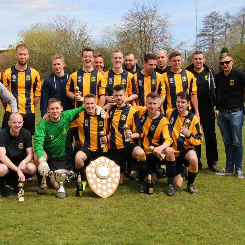 Tornadoes Men - Jim Wild Memorial Shield - 1st May 2016