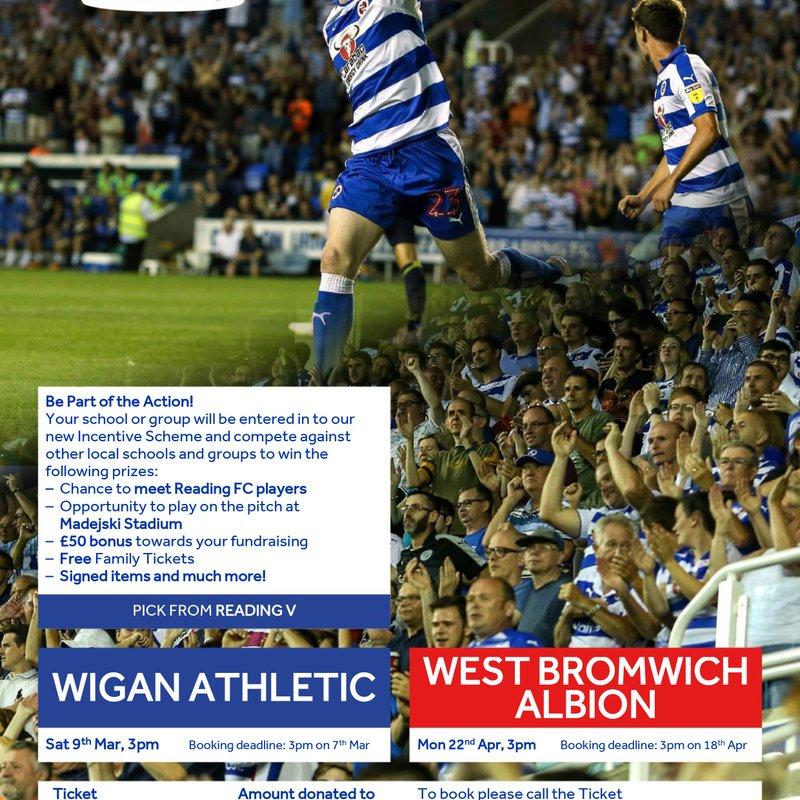 Reading FC Ticketing Scheme