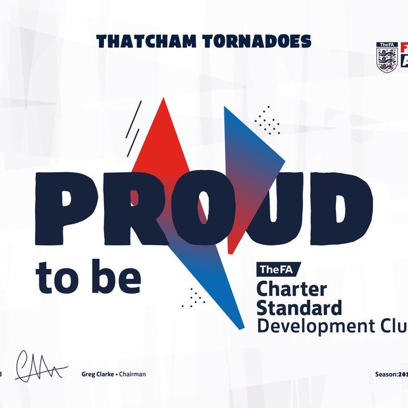 FA Charter Standard Development Club renewed!