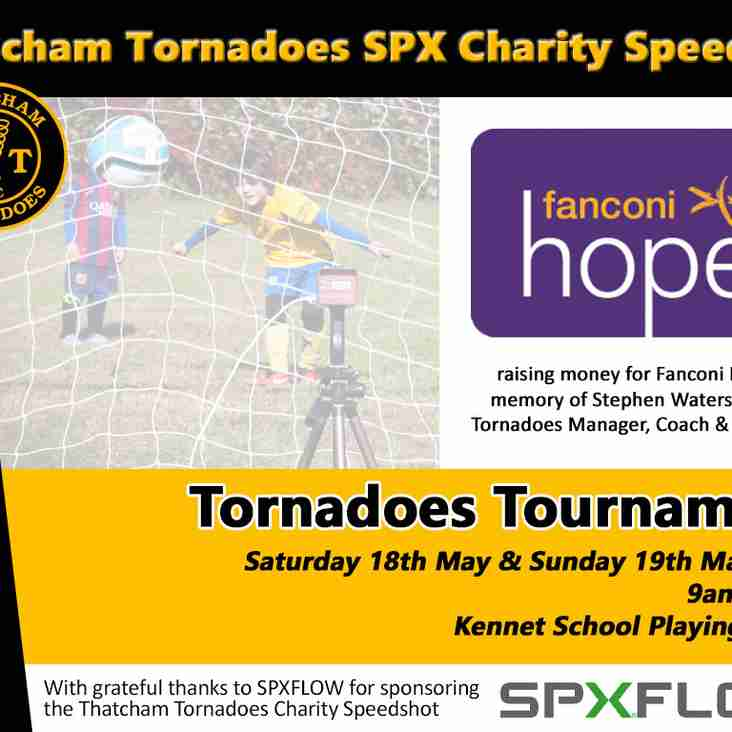 Speedshot raising money for Fanconi Hope at Tournament