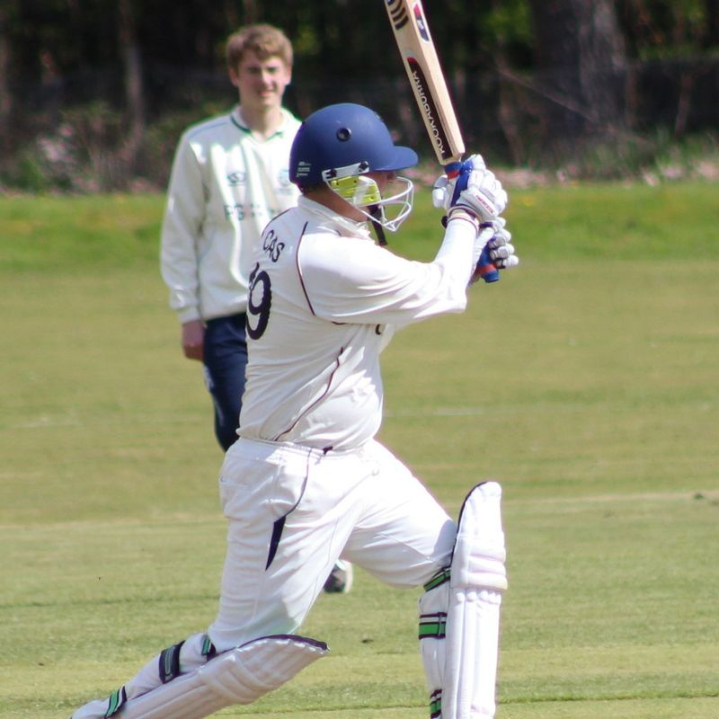 Kinnear's innings not enough to stop Holy Cross completing league double over Largo 2s