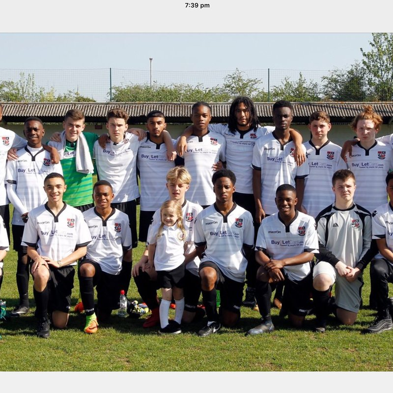 Under 15 Crowned county Cup  champions