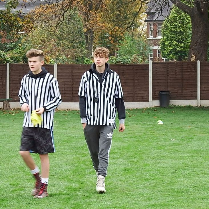 New Referee Debuts for Matt &amp; Isaac<