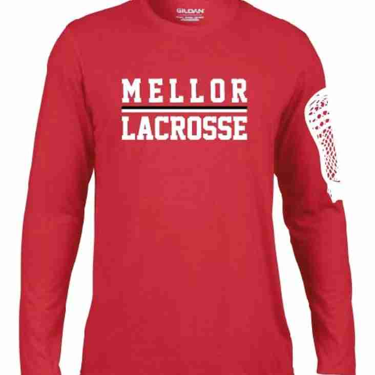 New Mellor Clothing Range now AVAILABLE