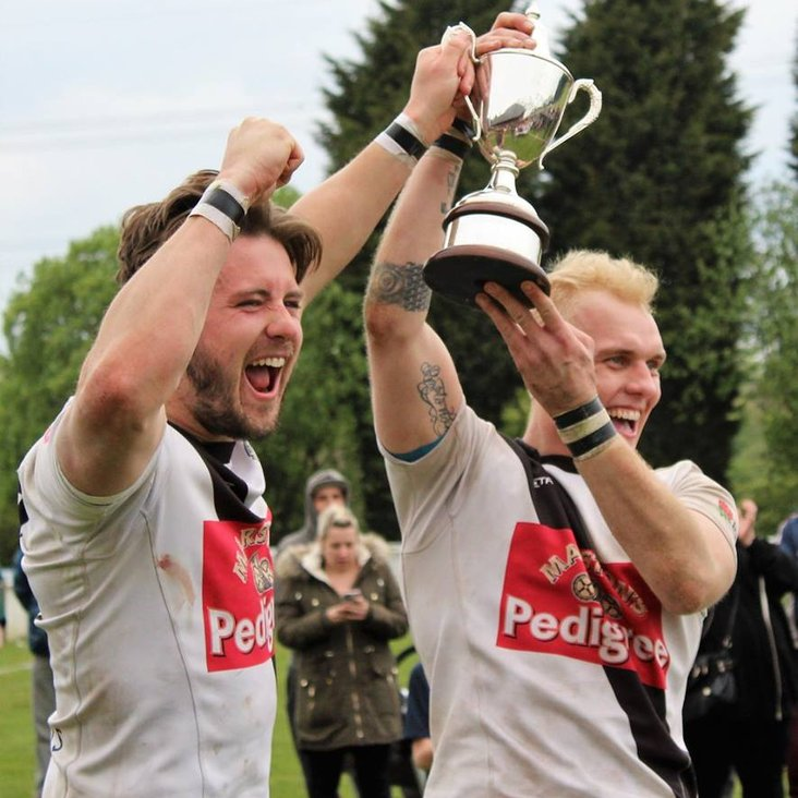Burton crowned Staffordshire Senior County Cup winners for the second successive season<
