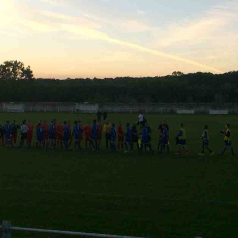 Wealstone Youth Academy V Flackwell Heath: Wednesday 3rd September 2014