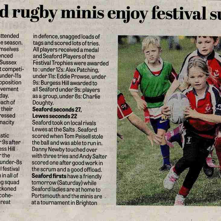 Minis in the News Again