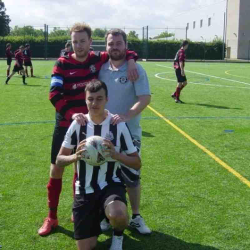 Cardea FC vs Parkside Athletic Res 28/07/13
