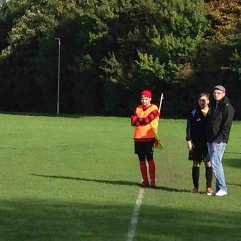 Cardea FC vs Parkside Reserves 20/10/13