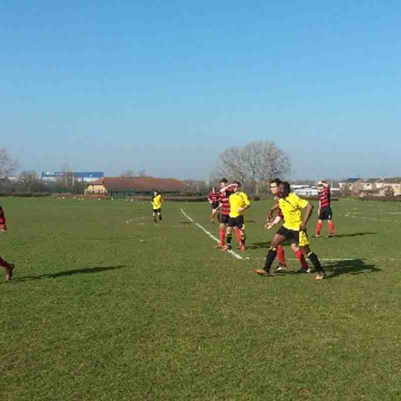 Cardea FC vs Peterborough Athletic 09/03/14