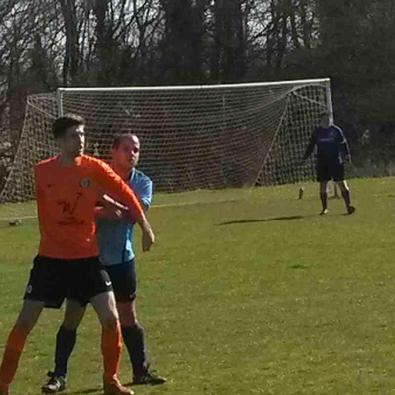 Werrington Dragons vs Cardea FC 16/03/14