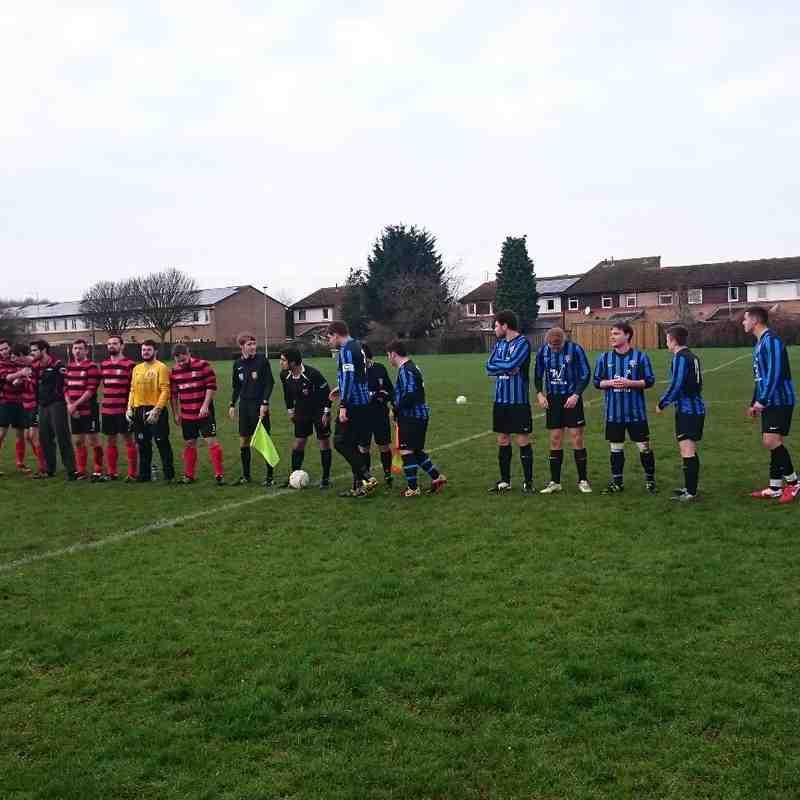 Cardea Reserves vs Cardea FC 17/01/16