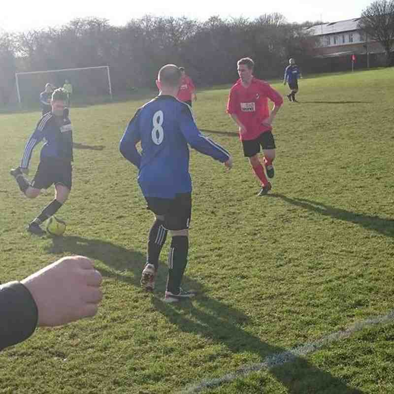 Cardea FC vs Wittering Harriers Res 04/02/17