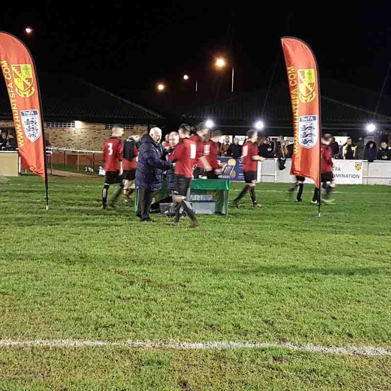 Cardea FC vs Fenstanton Res Hunts Cup Final