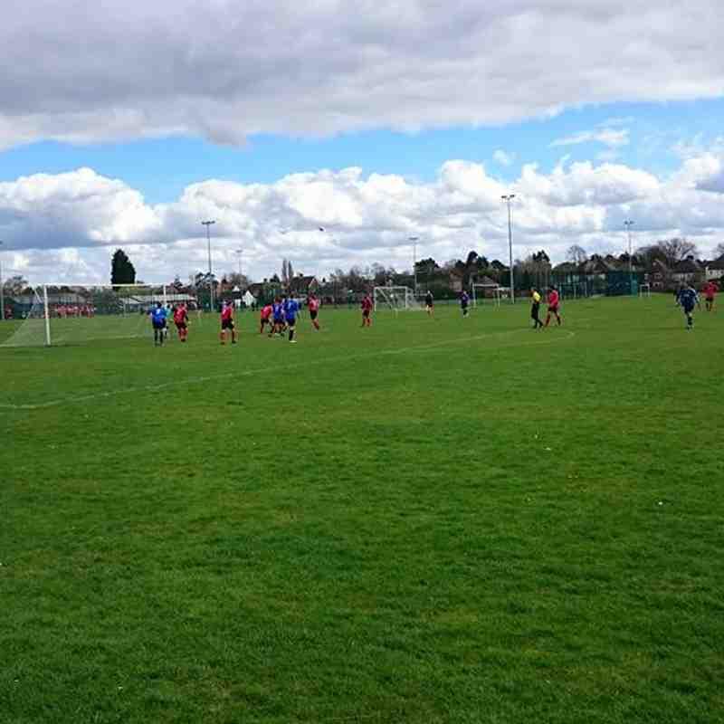 Netherton B vs Cardea FC 01/04/17