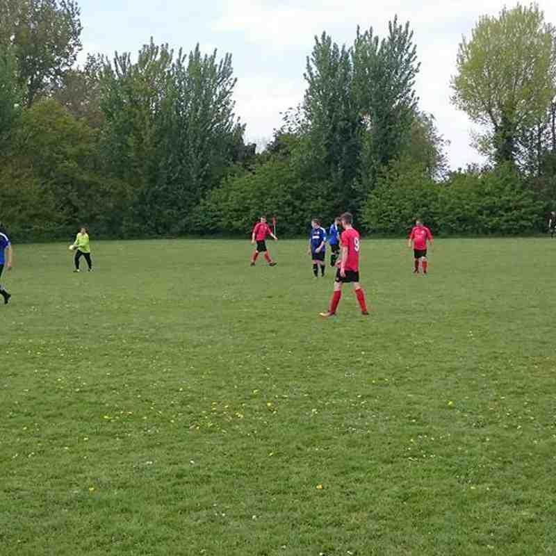 Tydd St Mary Res vs Cardea FC 29/04/17