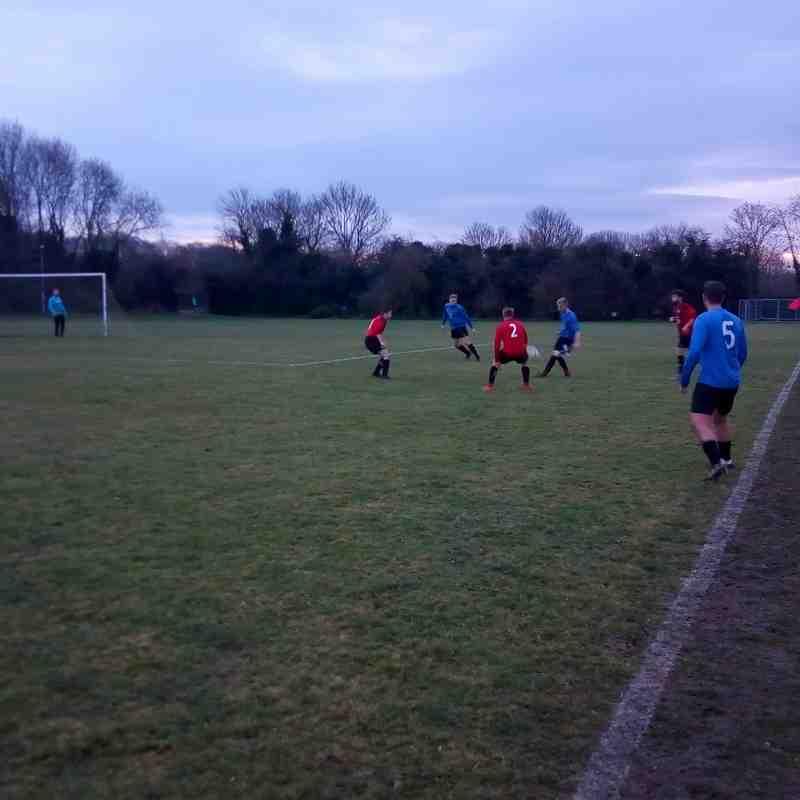 Cardea FC vs Uppingham Res 16/12/17