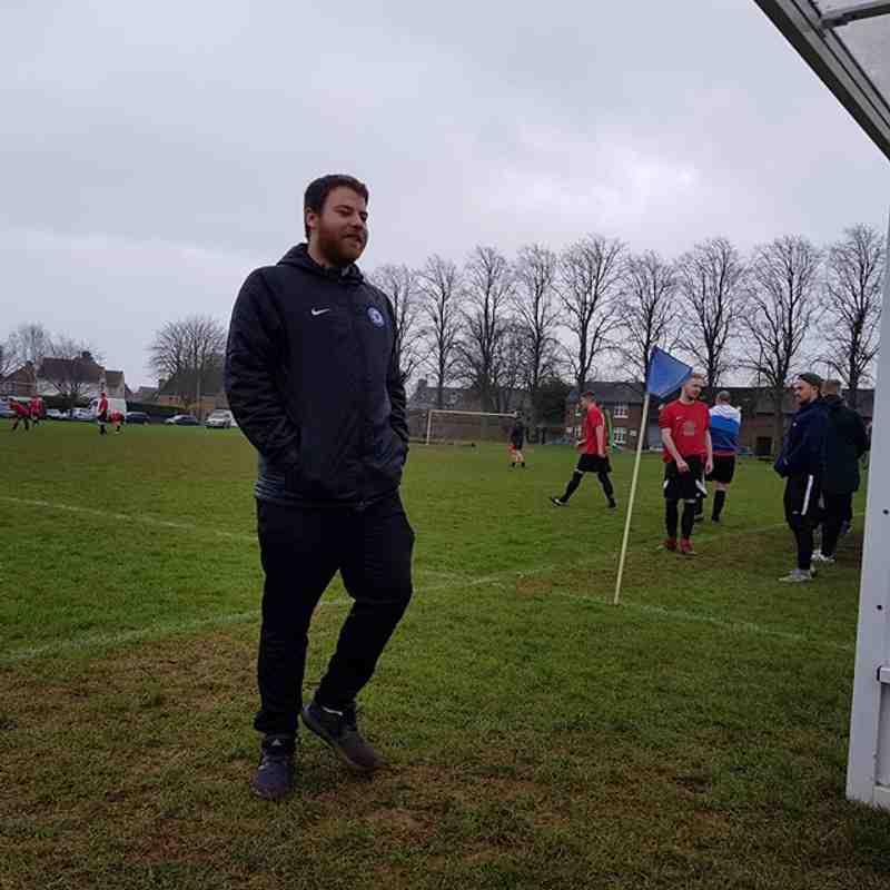 Uppingham Reserves vs Cardea FC 13/01/18