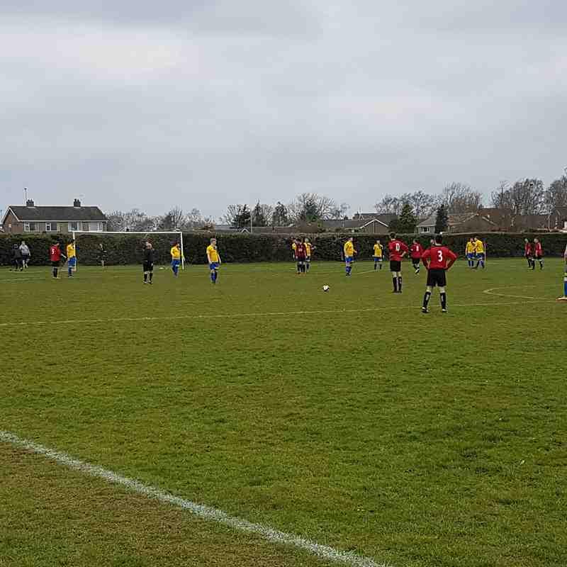 Stamford Lions A vs Cardea FC 24/03/18