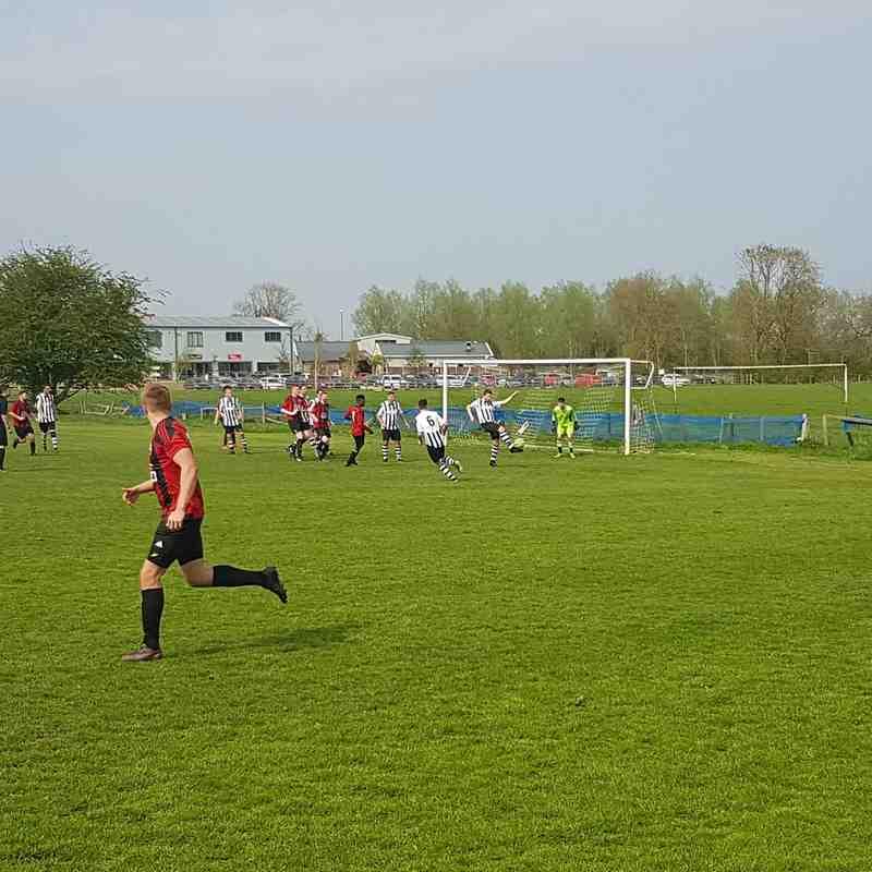 Oundle Reserves vs Cardea FC 21/04/18