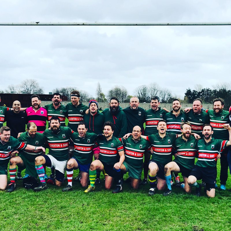 Rhinos Vets through to Middlesex Veterans Cup Final!
