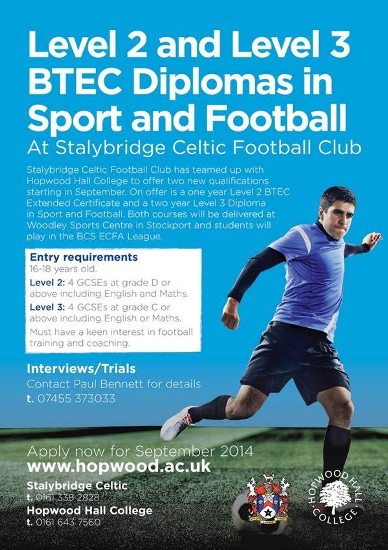 ACADEMY TRIALS!!!!!! - News - Stalybridge Celtic FC Academy