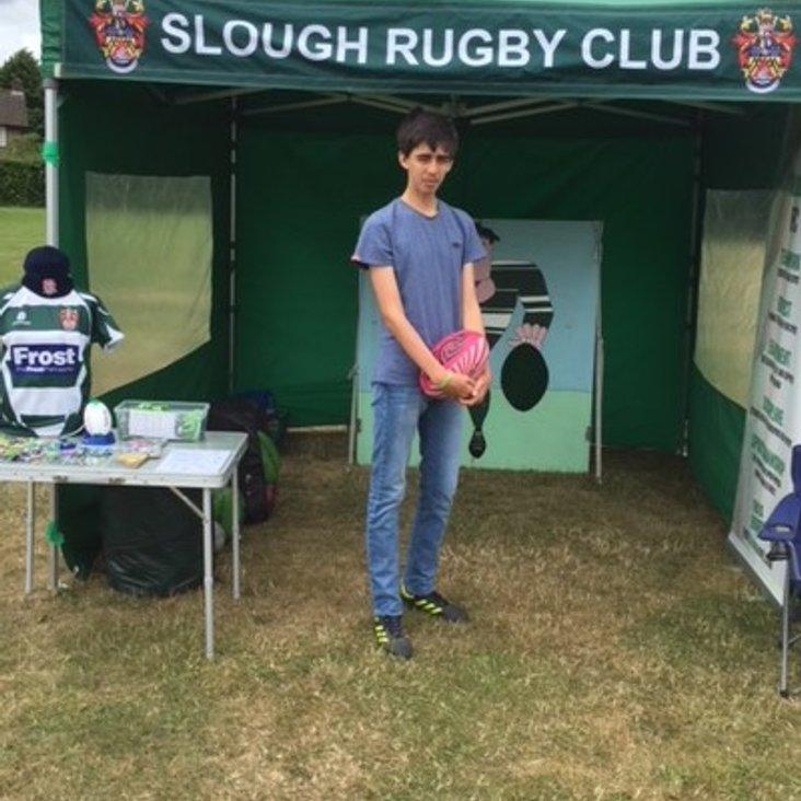 Slough RFC at Ryvers School fete<