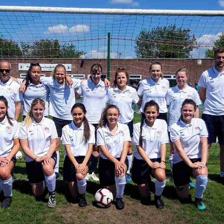 Caversham AFC Ladies Team is now recruiting for new players