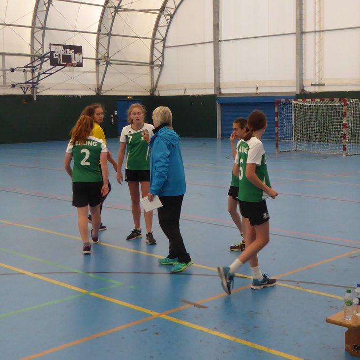 Ealing U16 girls make solid start<