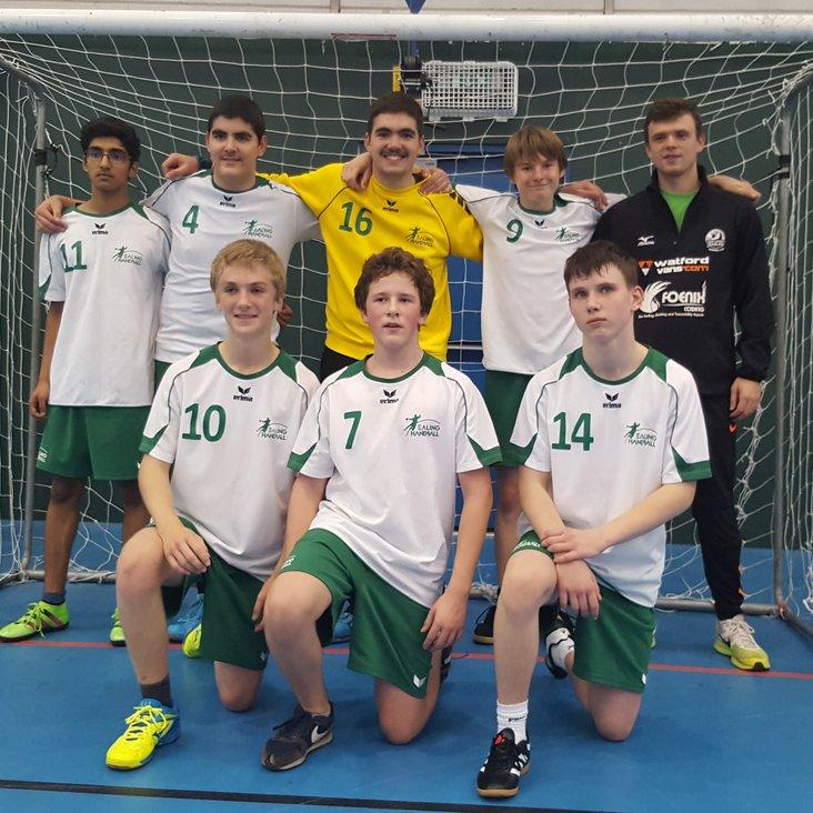 Ealing boys make good start to U16 League<