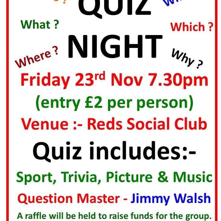 Quiz night<