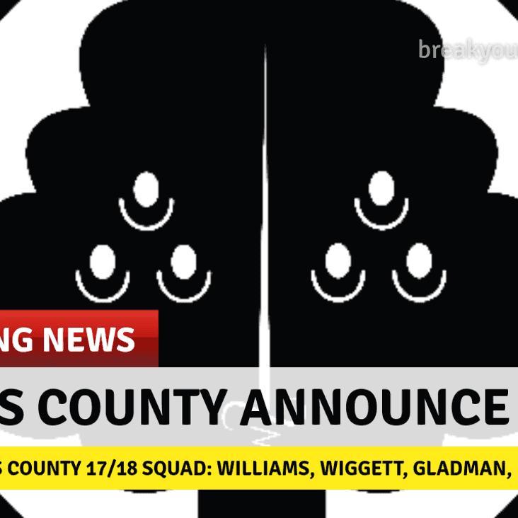Breaking: Berks County Squad for 17/18 season