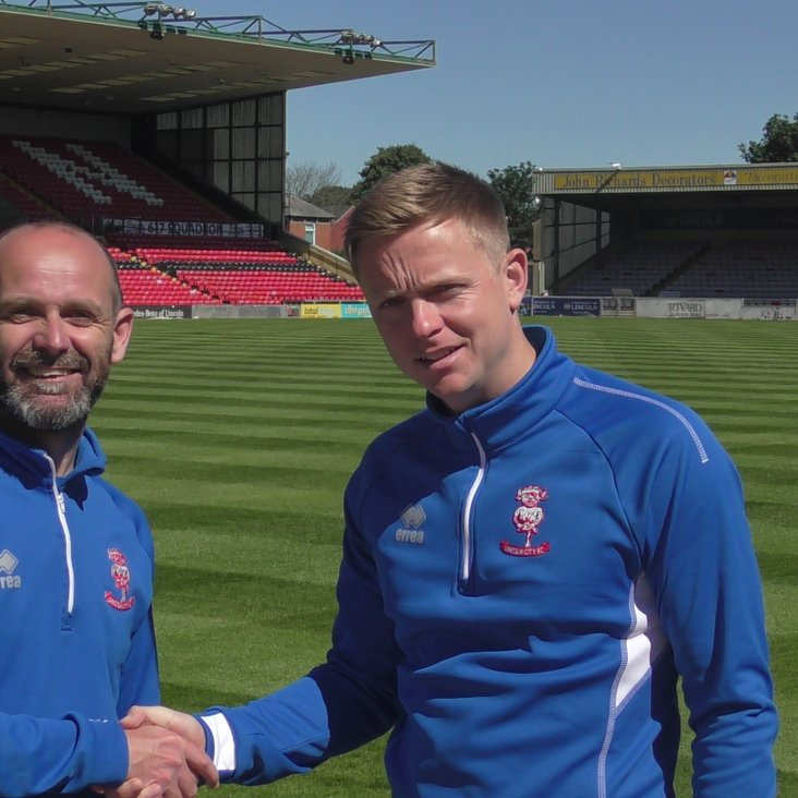 Tom Shaw arrives as Lead PDP Coach at Sincil Bank<