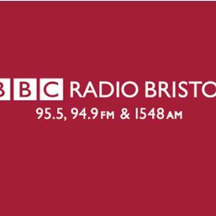 Yate Town live on BBC Radio Bristol