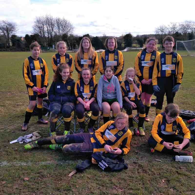 Rotherfield Utd v Tornadoes U14 Girls - Jan 2017