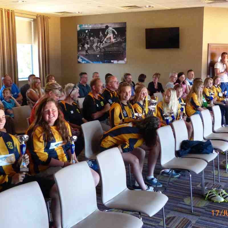 BCGFL Presentation Day for the U14 Girls June 2017