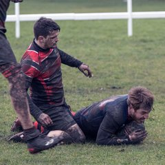 A dirty day for rugby v Redcar