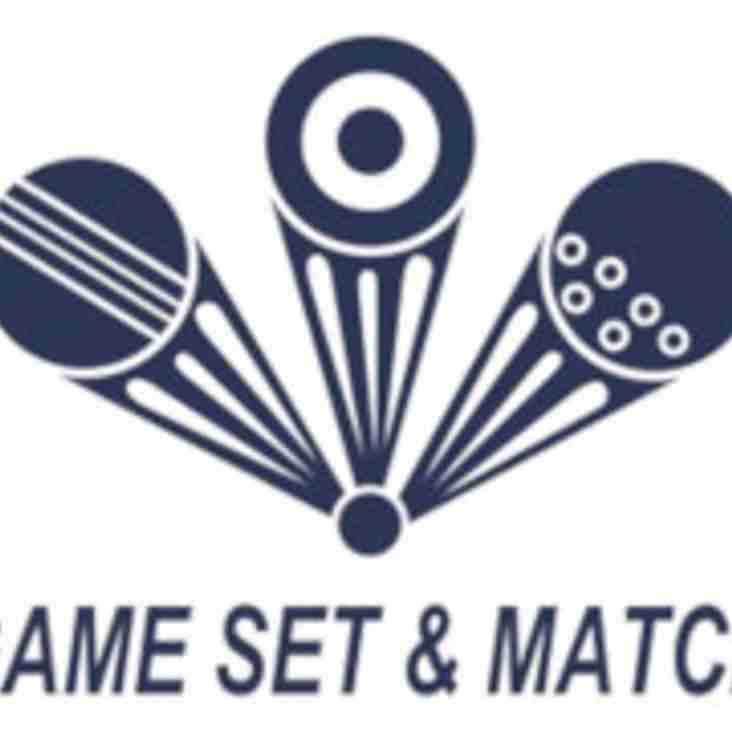 Game Set & Match to host exclusive evening event