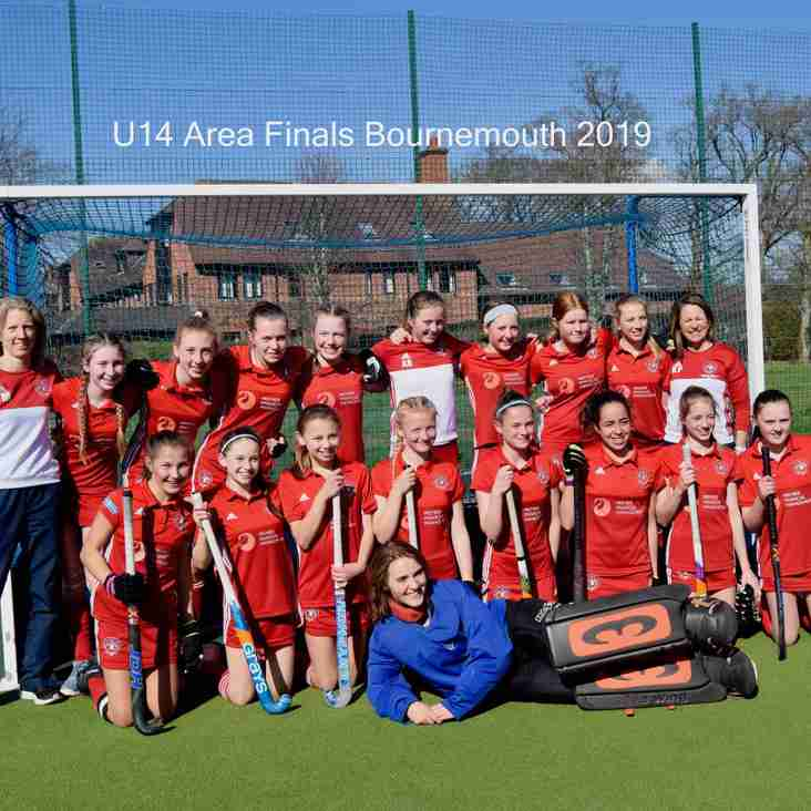 U14 Girls qualify for the National Finals
