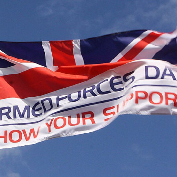 Armed Forces Day Warm Up Fixtures<