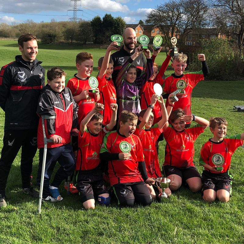 Falcons u10s Cup Winners 2019