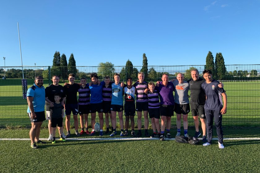 Great fun touch session tonight..